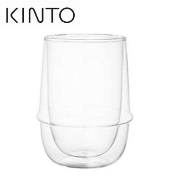 【福利品】KINTO KRONOS雙層玻璃杯-350ml