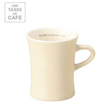 【福利品】UN CAFE 380C.C馬克杯-白色