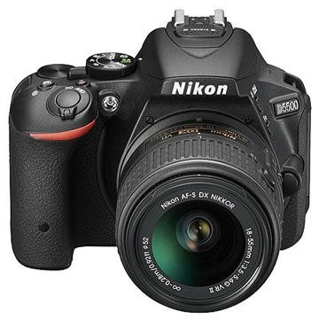 NIKON D5500 數位單眼相機KIT(18-55mmVR II中文平輸)