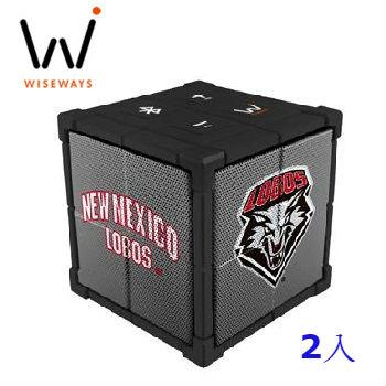 WISEWAYS KUBE 藍牙揚聲器2入(APM-1303-029)