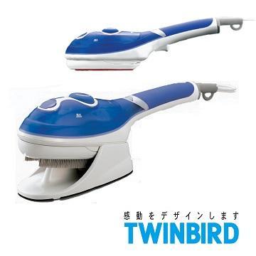 TWINBIRD 手持式蒸氣熨斗(SA-4084B(粉藍))