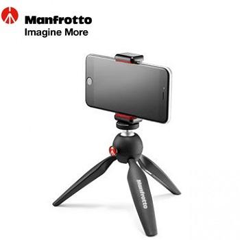 Manfrotto PIXI SMART 萬用夾腳架(MKPIXICLAMP-BK)