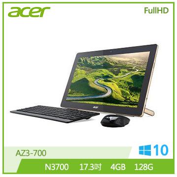 ACER AZ3 N3700 HD Graphics 四核液晶桌上型電腦(AZ3-700)