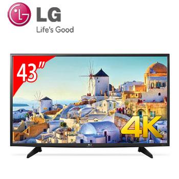 【福利品】LG 43型 4K LED智慧型液晶電視(43UH610T)