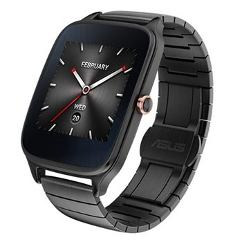 ASUS ZenWatch2智慧手錶-金屬紳士黑進化版(WI501Q(BQC)-2MGRY0003)
