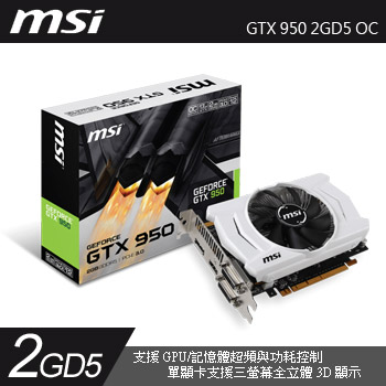 MSI GTX 950 2GD5 OC(GTX 950 2GD5 OC)