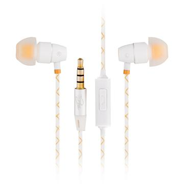 T.C.STAR TCE5020入耳式耳機麥克風-白