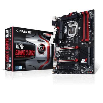 技嘉GA-H170-Gaming 3 DDR3主機板(GA-H170-GAMING 3 DDR3-1)