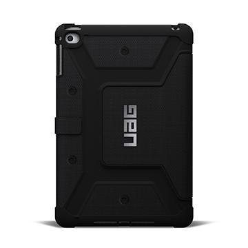 UAG iPad Mini 4 耐衝擊保護殼-黑(UAG-IPDM4-BLK-VP)