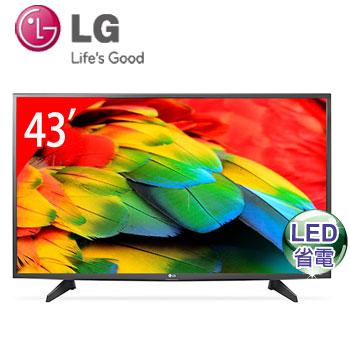 【福利品】 LG 43型LED智慧型液晶電視(43LH5700)