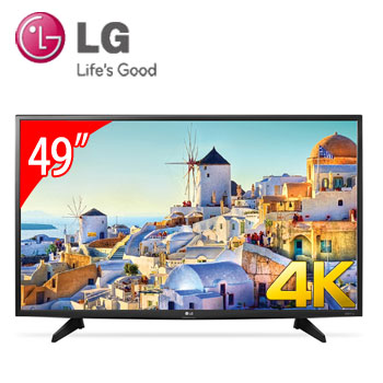 【展示機】LG 49型4K LED智慧型液晶電視(49UH610T)