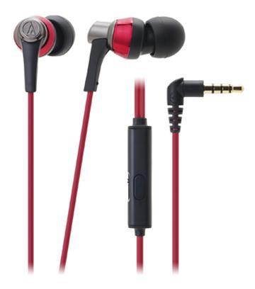 鐵三角 CKR3iS耳塞式耳機-紅(ATH-CKR3iS RD)