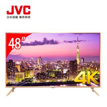 JVC 48型4K 超薄智慧聯網顯示器(48X(視166800))