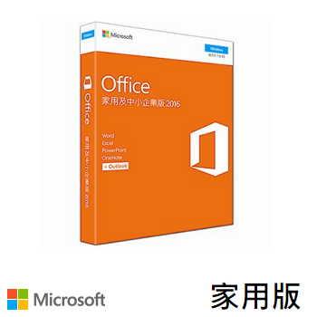 Office 2016 中文家用 Win 版 PKC(79G-04675)