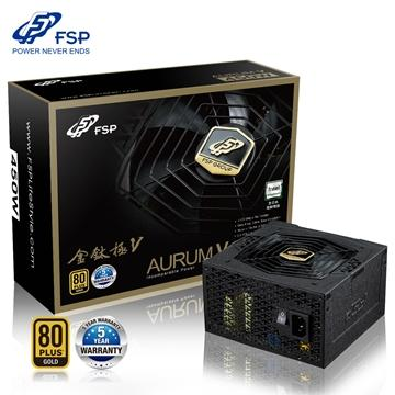全漢FSP 金鈦極V 450W 金牌 電源供應器(AS-450)