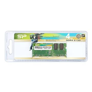 【4G】Silicon Power So-Dimm DDR4-2133(SP004GBSFU213N02)