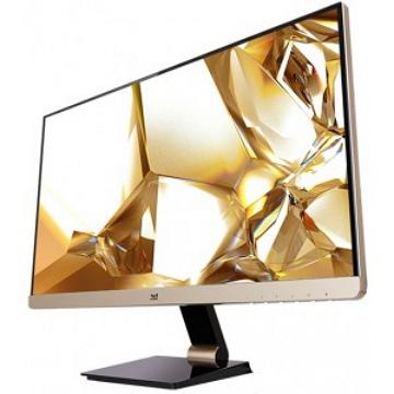 【25型】ViewSonic 無邊框金色款顯示器(VX2573-SG)