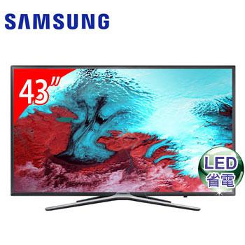 SAMSUNG 43型LED智慧型液晶電視(UA43K5500AWXZW)