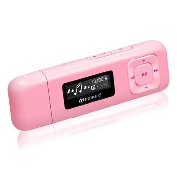 【8G】創見MP330 MP3(粉)(TS8GMP330P)