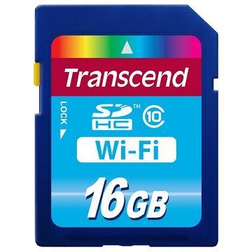 【16G】創見Wi-Fi SDHC10 記憶卡(TS16GWSDHC10)