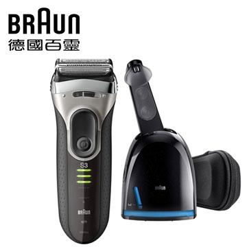 德國百靈新三鋒電鬍刀超值組(3090cc+HBF-214-B)
