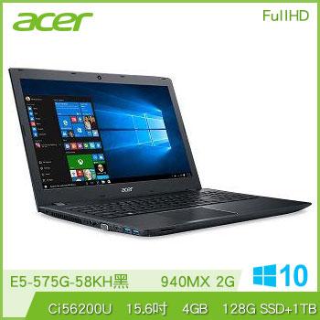 【混碟款】ACER E5-575G Ci5 NV940 獨顯筆電(黑)(E5-575G-58KH黑)