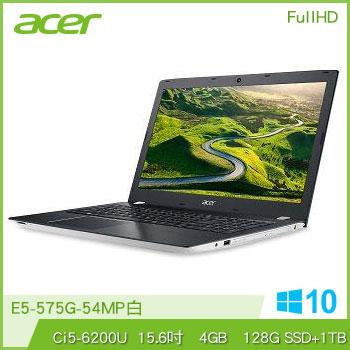 ACER E5-575G Ci5 NV940 獨顯筆電(白)(E5-575G-54MP白)