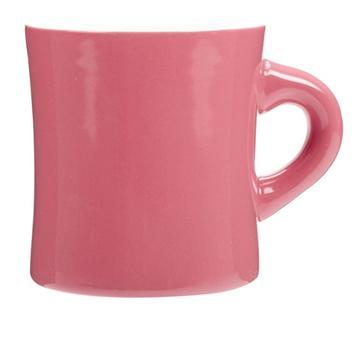 【福利品】收腰馬克杯-粉紅