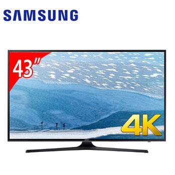 【展示機】SAMSUNG 43型4K LED智慧型液晶電視(UA43KU6000WXZW)