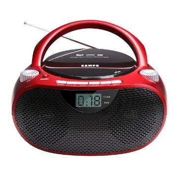 SAMPO MP3手提CD音響(AK-W1601L)