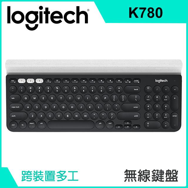 羅技 Logitech K780 跨平台藍牙鍵盤(920-008029)