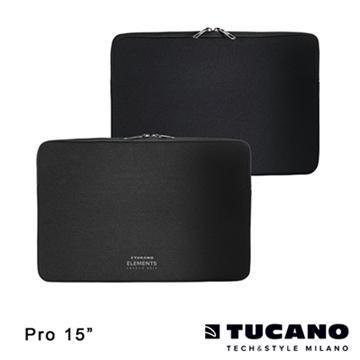 【15】Tucano ELEMENTS防震內袋MacBook Pro專用-黑(BF-E-MB15)