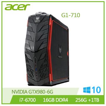 ACER G1-710 Ci7 GTX980 桌上型電腦(G1-710 i7-6700 電競機)