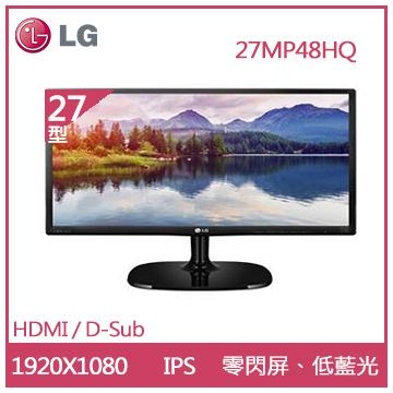 【展示福利品】【27型】LG 27MP48HQ AH-IPS液晶顯示器