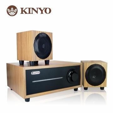 KINYO 2.1聲道全木質音箱
