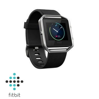 【S】Fitbit Blaze 智能健身手錶-典雅黑