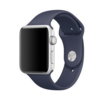 【42mm】Apple Watch Series 1/玫瑰金色鋁金屬/午夜藍色運動(MNNM2TA/A)