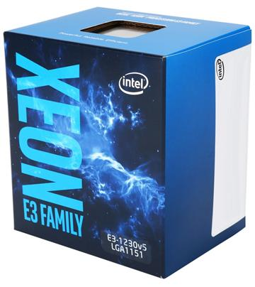 Intel CPU Xeon E3-1230 v5(盒裝中央處理器(BX80662E31230V5)