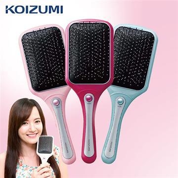 KOIZUMI小泉成器 音波磁氣美髮梳家用款-桃(KZ-KZB-0010VP)