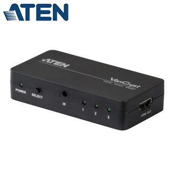 ATEN 3埠HDMI影音切換器(VS381)