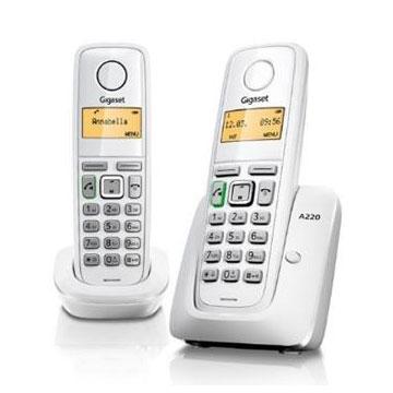 Gigaset 雙機數位無線電話(A220 DUO)