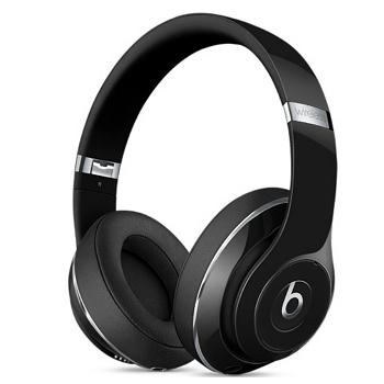 Beats Studio Wireless 頭戴式耳機 - 亮黑(MP1F2PA/A)