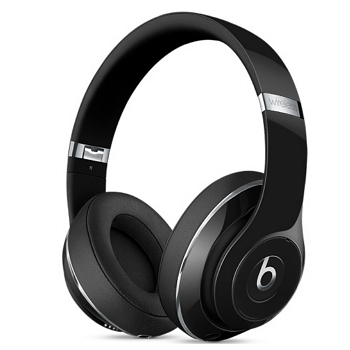 BeatsStudioWireless頭戴式耳機-亮黑