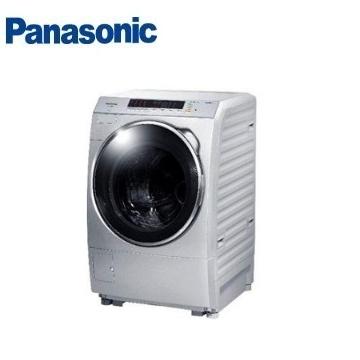 Panasonic 14公斤ECONAVI洗脫滾筒洗衣機(NA-V158DW-L炫亮銀))