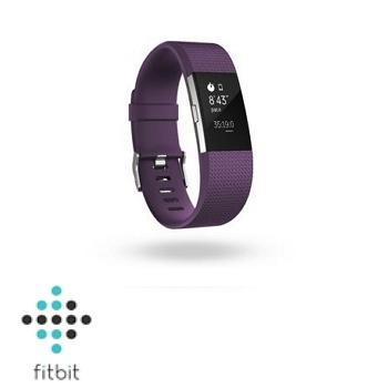 【S】Fitbit Charge 2 心率監測手環-紫紅色