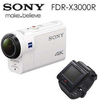SONY Action cam FDR-X3000R 運動攝影機(FDR-X3000R (LVR組))