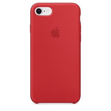 【iPhone 8 / 7 】矽膠護套-紅色