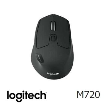 羅技 Logitech M720 Triathlon 多工跨平台無線滑鼠(910-004793)