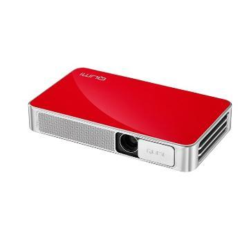 Vivitek QUMI Q3 Plus(紅)便攜式迷你投影機(QUMI Q3 Plus (紅色))