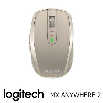 羅技MX Anywhere 2 無線滑鼠-銀河白(910-004974)